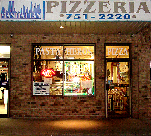 Manhattan Pizza And Restaurant 2460 Nesconset Hwy Stonybrook Ny